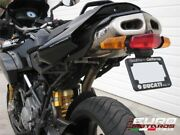Ducati Multistrada 620 1000 1100 Zard Exhaust Silencer +2hp And Number Plate Kit