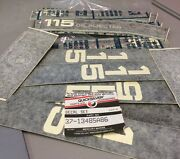 New Quicksilver Outboard Partial Decal Set As Shown In Picture 37-13485a86