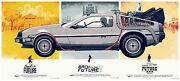 Back To The Future By Phantom City Creative - Rare Sold Out Mondo