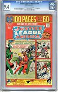Justice League Of America 116 Cgc 9.4 Nm+ Off - Wht To Wht Pgs 100 Pg Giant