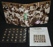 Sweet Caporal Lot Of 29 Baseball Pins From Penny Marshall Collection - 1910-12