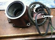 Good Used Omc Stern Swivel Bearing Carrier With Good Electric Shift Wire