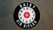 New 14.25 Round Daisy Air Rifle Toy Gun Oil Gas Glass Clock Face For Pam