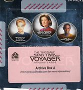 Star Trek The Quotable Voyager Archive Box A+b