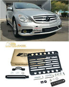 Eos For 06-10 Mb R-class W/ Pdc | Front Bumper Tow Hook License Plate Bracket