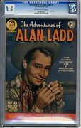 Adventures Of Alan Ladd 1 Cgc 8.5 Off-white To Wht Pgs 10-11/1949 Photo Cove