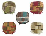 Luxury Fabric Patchwork Chenille Seat, Morocco Chair Pads, Cushions Many Colours