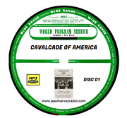 Cavalcade Of America 747 Shows Old Time Radio Mp3 11 Cd's