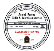 Lux Radio Theatre 767 Shows Old Time Radio Mp3 19 Cd's