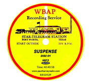 Suspense 915 Shows Old Time Radio Mp3 11 Cd's