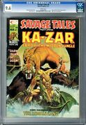 Savage Tales 9 Cgc 9.6 Nm+ White Pgs 3/75 Shanna The She-devil App. Mike