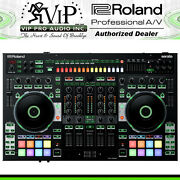 Roland Dj-808 Dj Controller W/ 4-channel Mixer Drum Sequencing - 200 Rebate