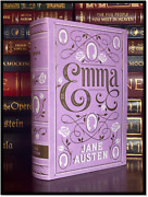 Emma By Jane Austen New Leather Bound Collectible With Ribbon Bookmark