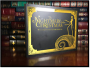 The Nightmare Before Christmas By Tim Burton New Special Gift Hardback + Dvd