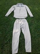Authentic Us Army 2 Piece Thermal Long John Set Top And Bottom Gently Worn