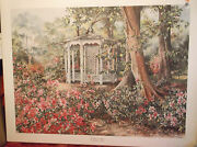 Sandy Lynam Clough A Place To Linger Double Signed, Limited Edition...new