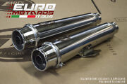 Triumph Bonneville T100 17-19 Zard Exhaust Full System Silencers Mirror Polished