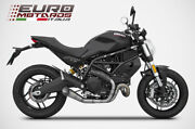 Ducati Monster 797 Zard Exhaust Racing Full System Titanium Special Edition