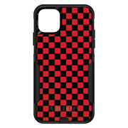 Otterbox Commuter For Apple Iphone Pick Model Red Black Checkered Flag