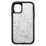 Otterbox Defender For Apple Iphone Pick Model White Lace Wedding