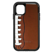 Otterbox Defender For Apple Iphone Pick Model Football Texture Photo Laces