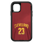 Otterbox Defender For Apple Iphone Pick Model Cleveland 23 Jersey