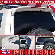 2001-2006 Mitsubishi Montero Factory Style Spoiler W/led Rear Roof Wing Primer