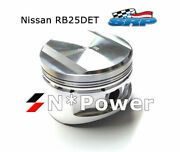Srp Forged Pistons And Pins 0.50mm+ For Nissan Skyline R33 Rb25det Stagea Turbo