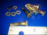 0302030 Bolts 302030 303398 Johnson Evinrude 4hp 73 H Screw Washers 0303398