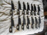Ww2 German Marked K98 8mm Mauser Rifle Parts Early Milled Complete Triggerguard