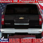 2007-2014 Chevy Suburban Tahoe Liftgate Chrome Tailgate Handle Cover Lower