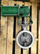 Fisher 8 Inch Butterfly Class 150 1066 Actuated Valve