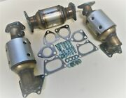 2004-2008 Acura Tl 3.2l Front D/s And P/s And Rear Catalytic Converter Set New