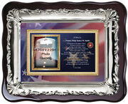 Marine Corps Picture Frame Usmc Photo Frame Plaque Personalized Military Gift