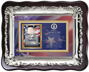 Air Force Picture Frame Usaf Photo Frame Plaque Personalized Military Gift