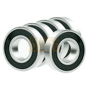 5x 6313-2rs Ball Bearing 65mm X 140mm X 33mm Rubber Seal Premium Rs 2rs New