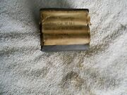 Ww2 Us Gi M-1 Carbine Parts Nos Is Marked Oiler From Original Arsenal Pack