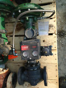 New Fisher Type Et 1.5 Inch Class 300-740 667 Actuated Valve