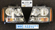 2007-2014 Chevrolet Avalanche Tahoe Suburban Oem Front Left And Right Headlights