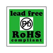 Box Packaging Lead Free Rohs Compliant Labels, 2 X 2 500 Per Roll, 1 Roll