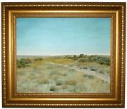 Chase First Touch Of Autumn 1898 Framed Canvas Print Repro 16x20