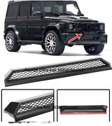 For 13-up Mb W463 G-class G63 G65 B-style Front Bumper Trim Scoop Vent Grille
