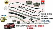 For Range Rover Evoque 2.0 241bhp 2011- Timing Chain Kit With Vvt Gears Set