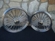 21x3.5 And 18x3.5 Dna Fatty 40 Mammoth Wheel Set 2000-07 Harley Touring Bagger