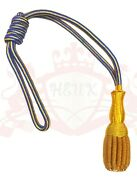 British Army Sword Knot Royal Navy Sword Knot Golden And Navy Blue/navy Officer