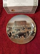 Spring Pasture By Lowell Herrero Franklin Mint Certified Porcelain 8in Plate