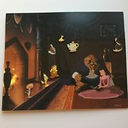 Dlr Gwp Beauty And The Beast Map Lumiere Cogsworth Potts 6 Pins Disney Pin 13102