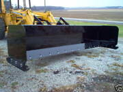 Linville 10' Low Profile Snow Pusher Skid Steer Bobcat Plow  American Made