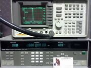 Fluke 6062a Synthesized Signal Generator Works Great 100 Khz-2100 Mhz Opt 830