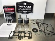 Polaris 800 Axys And Pro-x Wossner Piston Kit Top End Forged K7044da-2 2016-2017